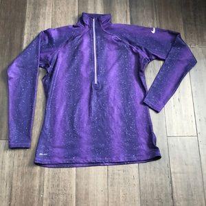 Nike dri-fit galaxy sweater XL
